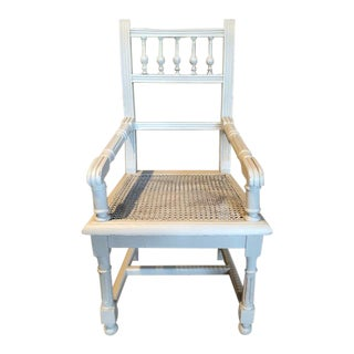 1920s Vintage French Child's Chair For Sale