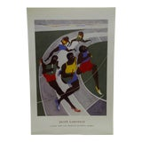 Image of 2001 Study for the Munich Olympic Games Poster Jacob Lawrence For Sale