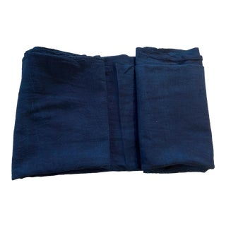 African Indigo Cloth Textile For Sale