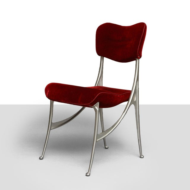 "Oscar Tusquets ""Lucas"" dining chairs for Driade - Image 4 of 8"