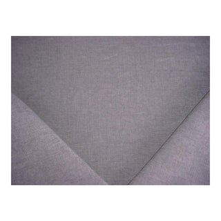 Donghia Beekman It Soft Gray Outdoor Chenille Upholstery Fabric - 3 1/8 Yards For Sale