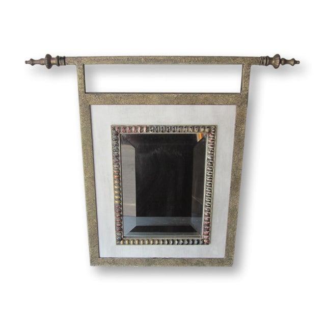 John Richard Small Mirror With Finials - Image 2 of 9