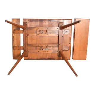 Mid Century Modern Maple Dining Table by Paul McCobb for the Planner Group Winchendon For Sale