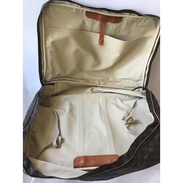 Contemporary 1980s Louis Vuitton Soft Suitcase For Sale - Image 3 of 13