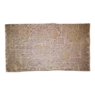 Klimt Sateen Linen Pillow Cover For Sale