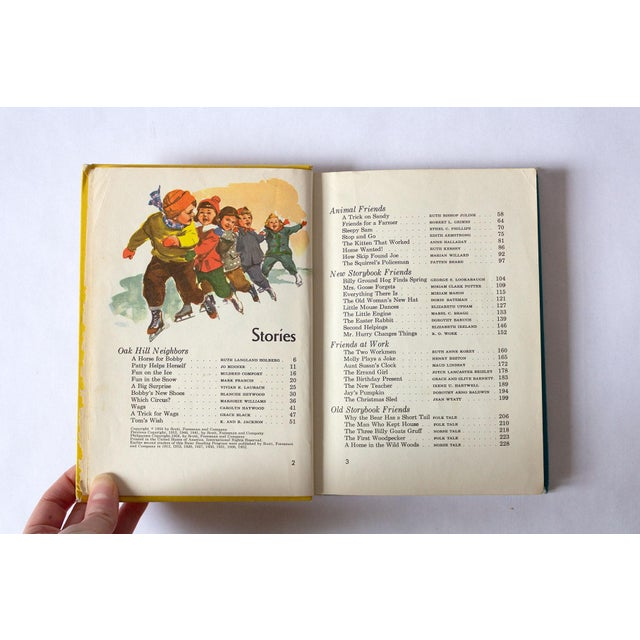 American 1950s Vintage Children's School Book For Sale - Image 3 of 8