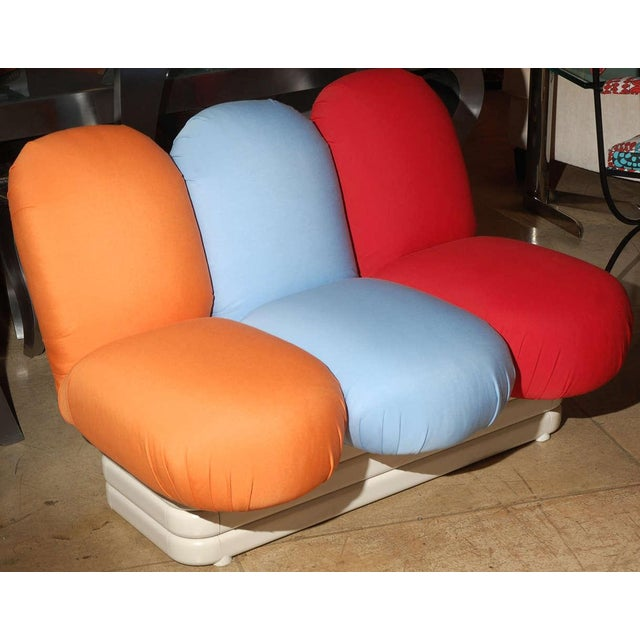 Mid-Century Modern Settee by Pierre Paulin for Artifort For Sale - Image 3 of 7