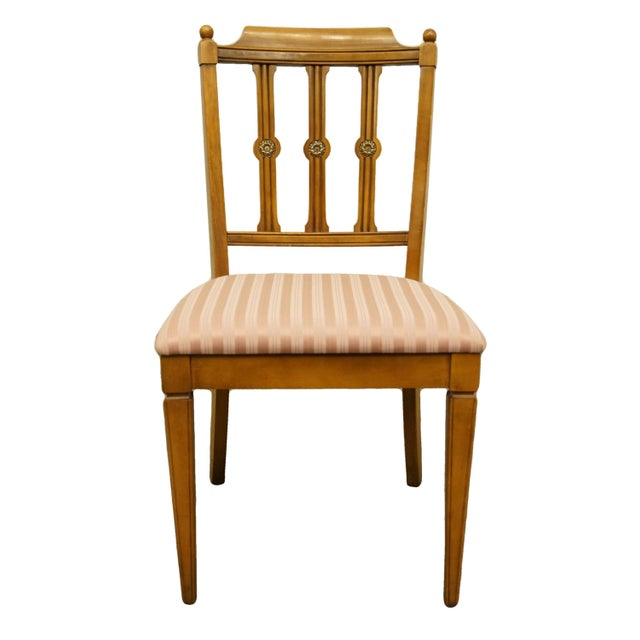 Vintage Century Furniture Italian Inspired Dining Side Chair For Sale - Image 9 of 9