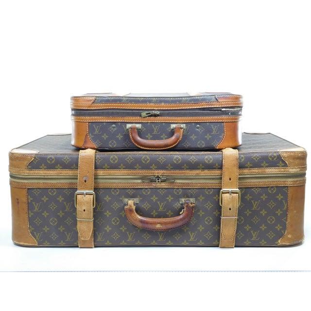 Authentic Vintage Louis Vuitton Suitcases - A Pair - Image 1 of 10