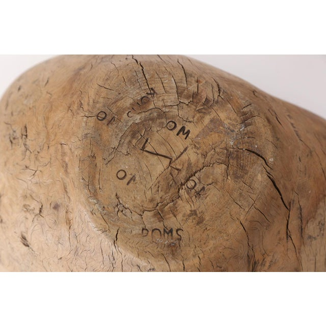 Swedish Root Wood Bowl For Sale - Image 4 of 6
