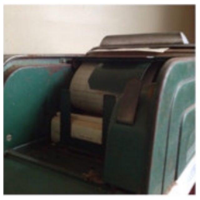 United Autographic Register Art Deco Cash Machine - Image 10 of 11