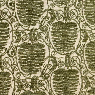 Scalamandre Veneto Pine Fabric in Fern Sample For Sale