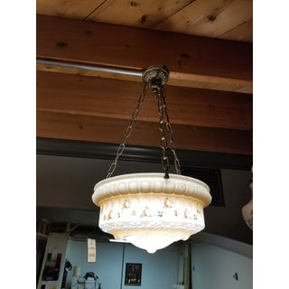 Early 1900s 3-Chain Suspension Chandelier Preview
