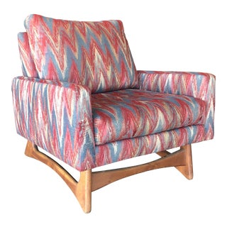 1950s Vintage Adrian Pearsall Gondola Club Chair For Sale
