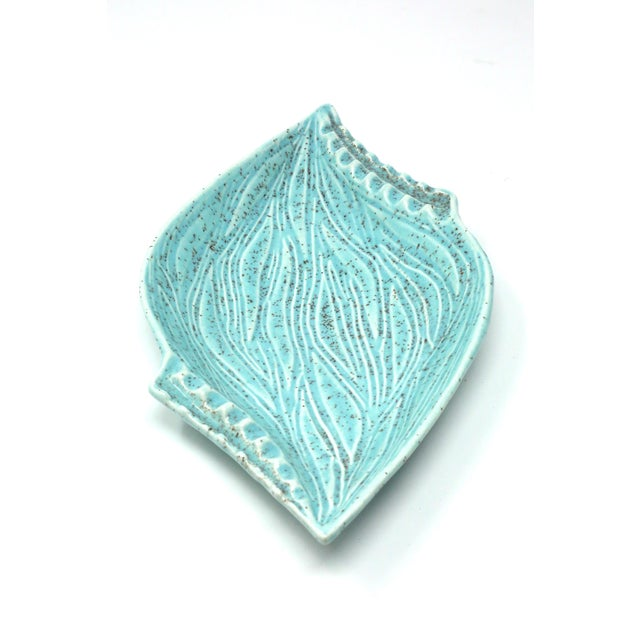 Vintage Turquoise California Originals Ceramic Ashtray For Sale - Image 10 of 10