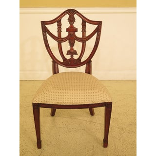 Maitland Smith Carved Mahogany Dining Room Chairs - A Pair Preview