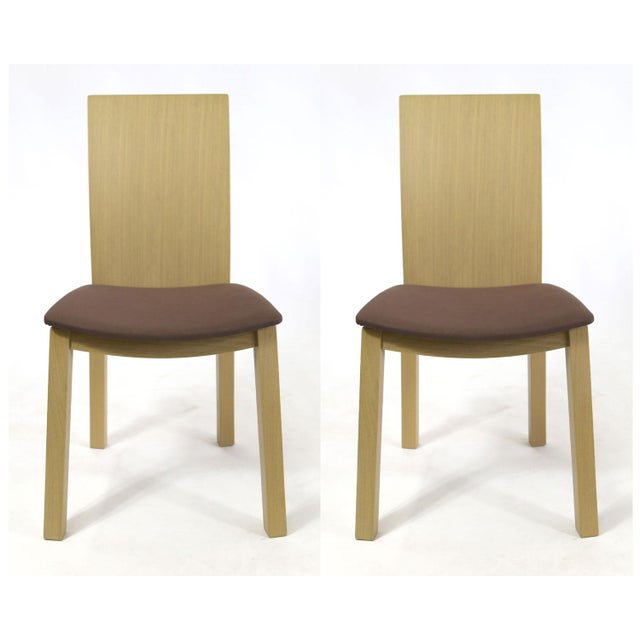 Idealsedia Italian Made Post Modern Side Chairs - a Pair For Sale - Image 13 of 13