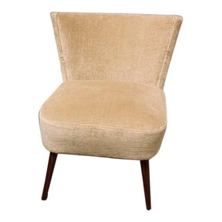 Modern Suzanne Kasler Beige Loire Chair For Sale
