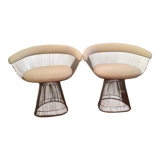 Warren Platner by Knoll Arm Chairs - A Pair
