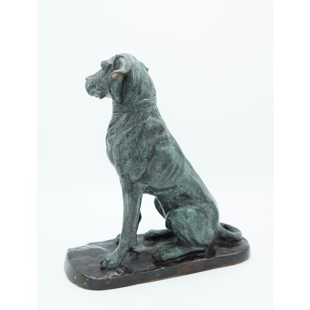 Vintage Maitland-Smith Bronze Sporting Dog For Sale In Tulsa - Image 6 of 12