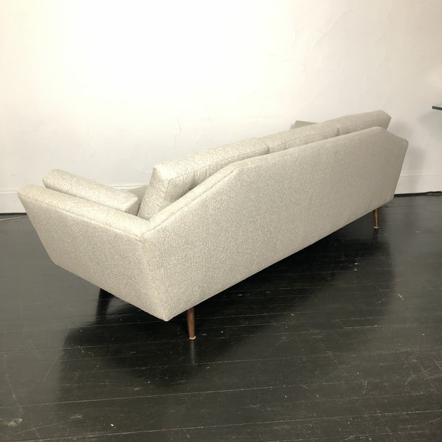 Wood 1960s Restored Adrian Pearsall Gondola Sofa For Sale - Image 7 of 13