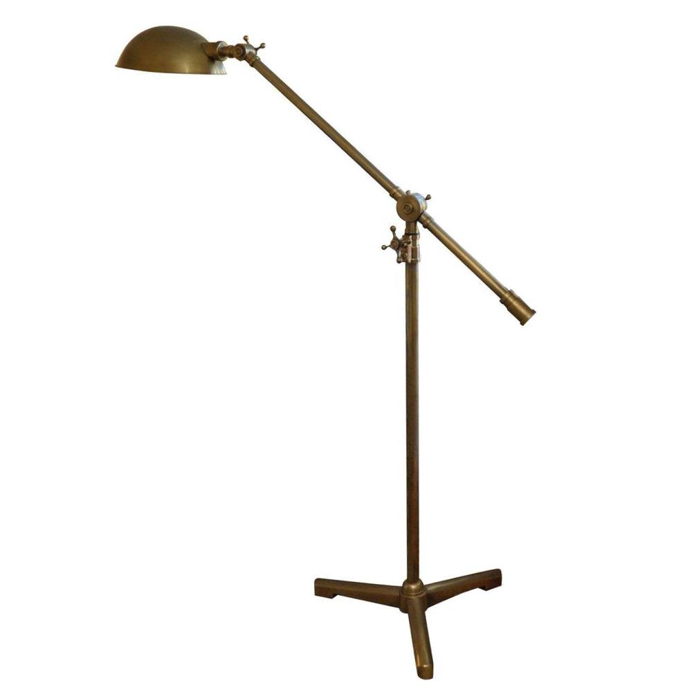 Exceptional Restoration Hardware Rowan Brass Pharmacy Floor Lamp