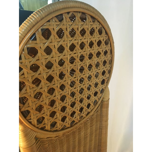 1980s 1980s Vintage Rattan Chairs - a Pair For Sale - Image 5 of 12