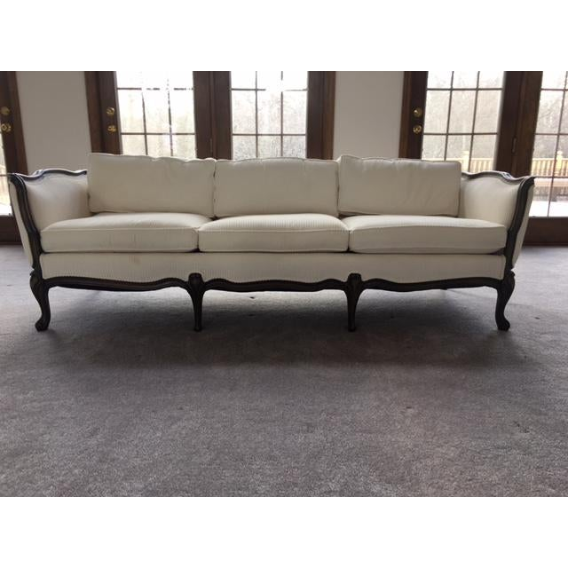 French Transitional Style Sofa - Image 2 of 6