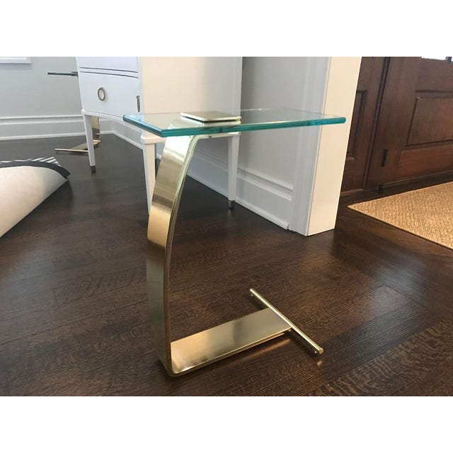 Dia Brass & Glass Side Tables - A Pair - Image 7 of 7