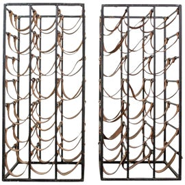 Image of Brown Wine Racks