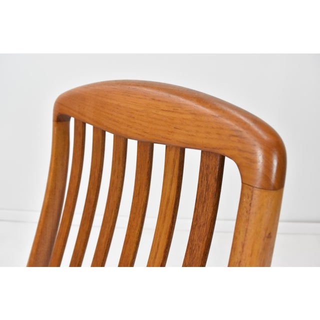 Danish Modern Teak Dining Chairs by Edward Valentinsen - Set of Six For Sale In Orlando - Image 6 of 13
