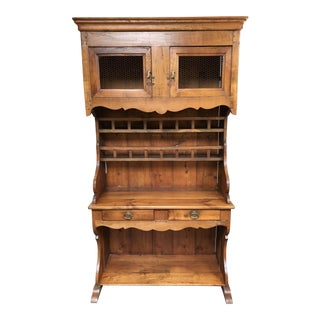 Antique Wood Hutch For Sale