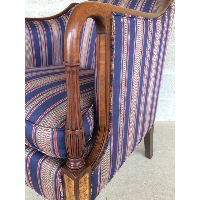 Southwood Mahogany Accent Chairs - a Pair For Sale - Image 5 of 11