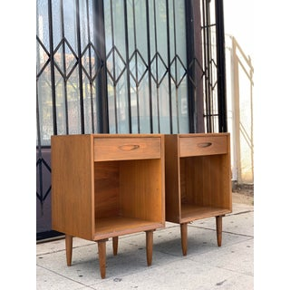 Tall Standing Mid Century Nightstands Preview