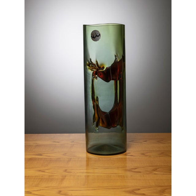 """Modern """"Membrane"""" Vase by Toni Zuccheri for VeArt For Sale - Image 3 of 4"""