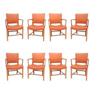 Set of Eight Kaare Klint Armchairs For Sale