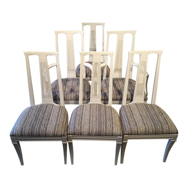 Vintage Dining Chairs- Set of 6 For Sale