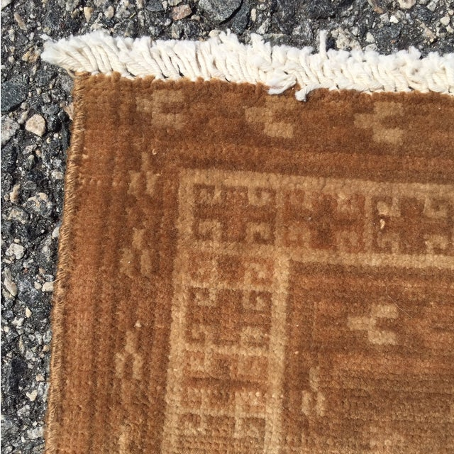 "Vintage Turkaman Persian Rug - 1'11"" x 2'9"" - Image 8 of 10"