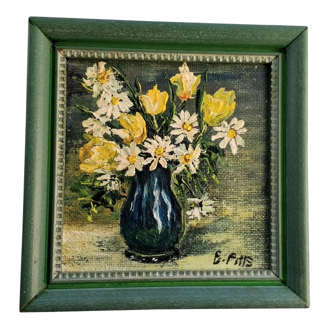 Mini Still Life Oil Painting - Image 1 of 5