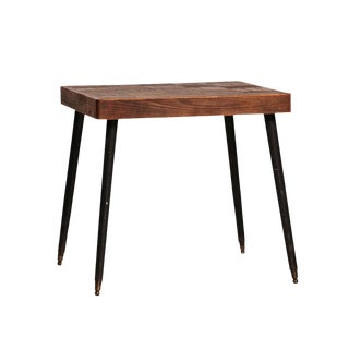Reclaimed Wood Bistro Table For Sale