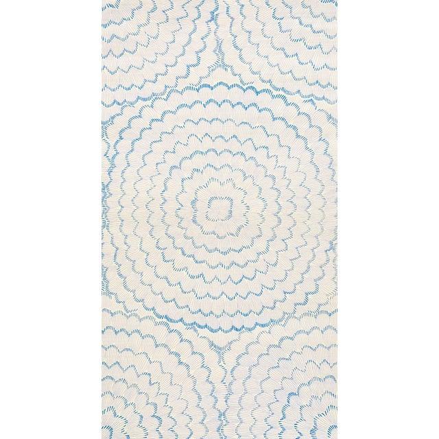 Schumacher X Celerie Kemble Feather Bloom Wallpaper In Wisteria