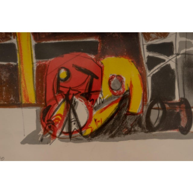1940s 1940s Lithograph After Edouard Pignon Ltd Ed For Sale - Image 5 of 10