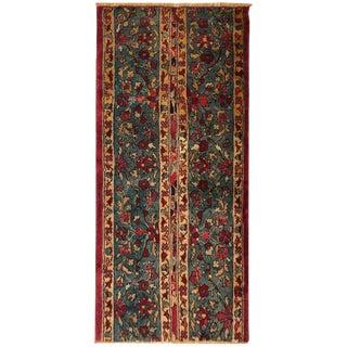 """Unique Antique Indian Agra Oriental Rug, Size 4'0"""" H X 2'0"""" For Sale"""