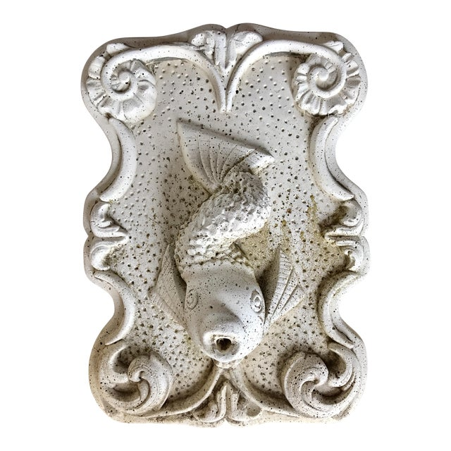 Cast Stone Fish Fountain For Sale