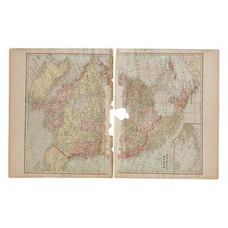 Cram's 1907 Map of North America