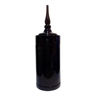 Black Lacquer Siam Cache Box For Sale