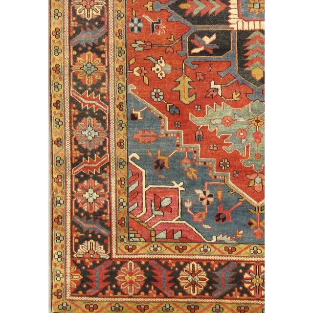 Pasargad's Serapi collection is a collection of traditional and geometric oriental rugs with updated colors and styling....