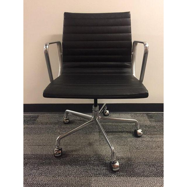 Eames Leather Office Chair - Image 2 of 5