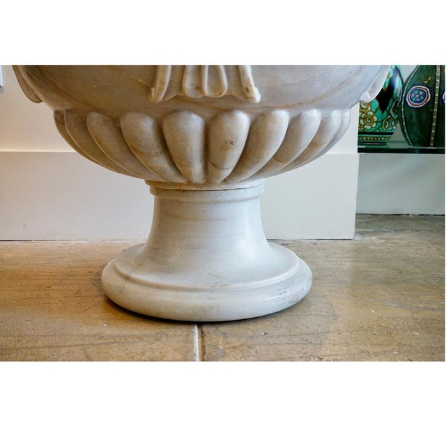 Italian Marble Planter For Sale - Image 4 of 5