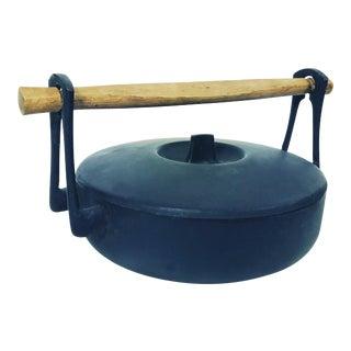 Vintage Tokaido Cast Iron Cauldron Pot For Sale
